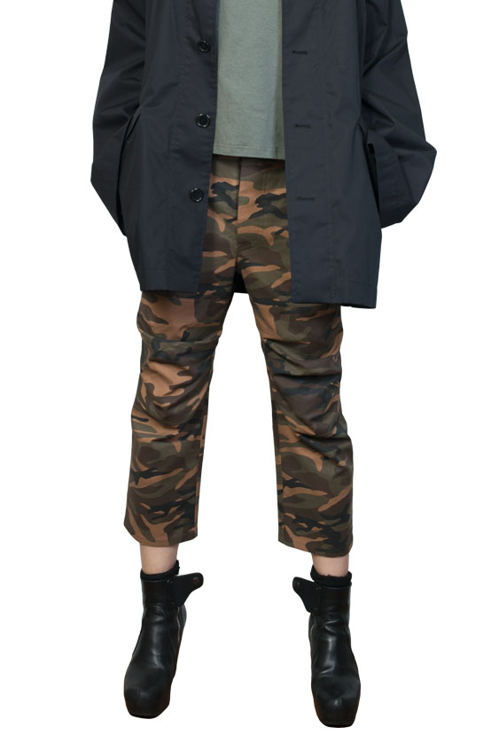 S/S17 ADAM CAMOUFLAGE HIGH WASIT PANTS