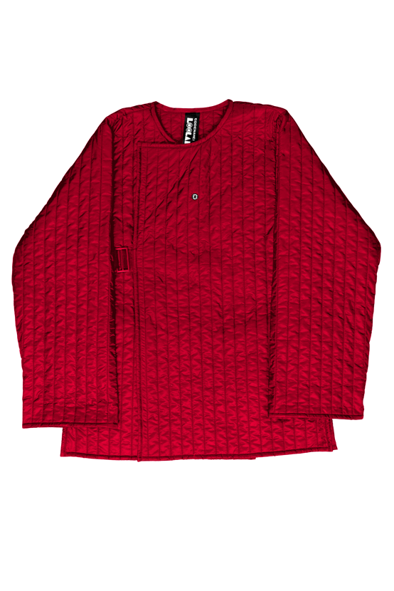 F/W17 SHELL WRAP JACKET(RED)