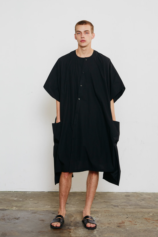 S/S18 KCORONA BOX DRESS(BLACK)