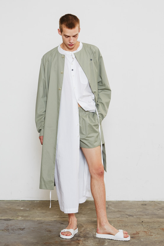 S/S18 NEO LONG COAT(KHAKI)