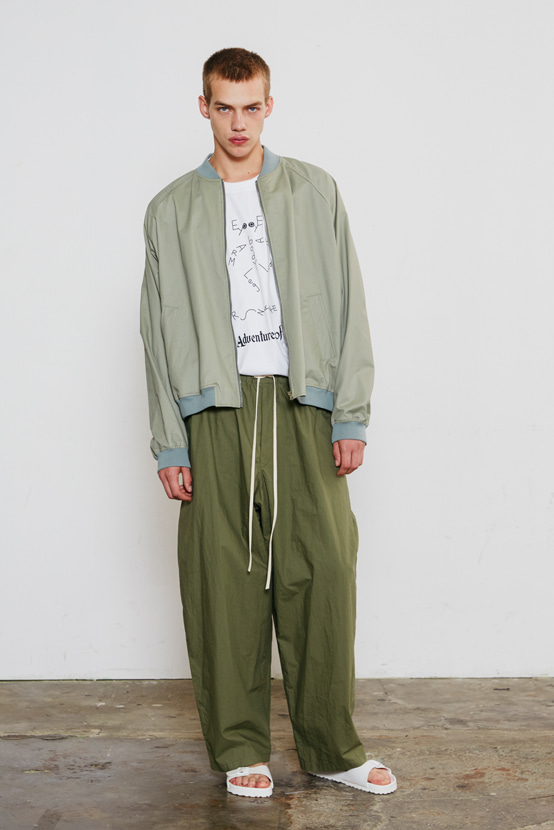 S/S18 NEO PYRAMID ZIP UP JACKET(KHAKI)