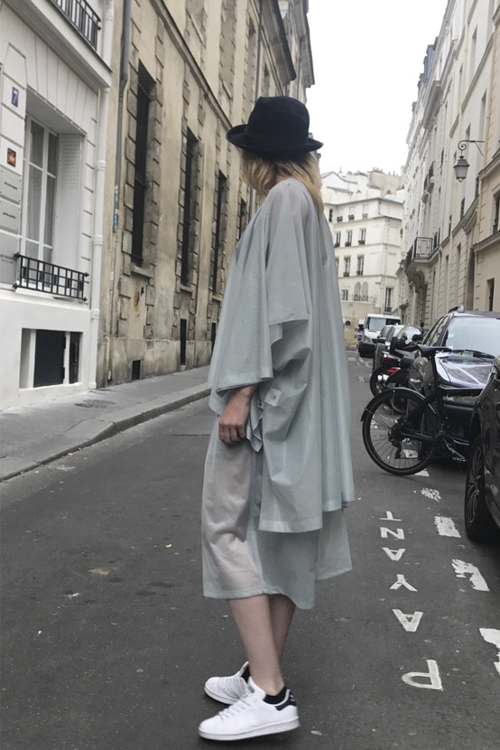 S/S18 TRICO OVERSIZED ROUND T-SHIRT
