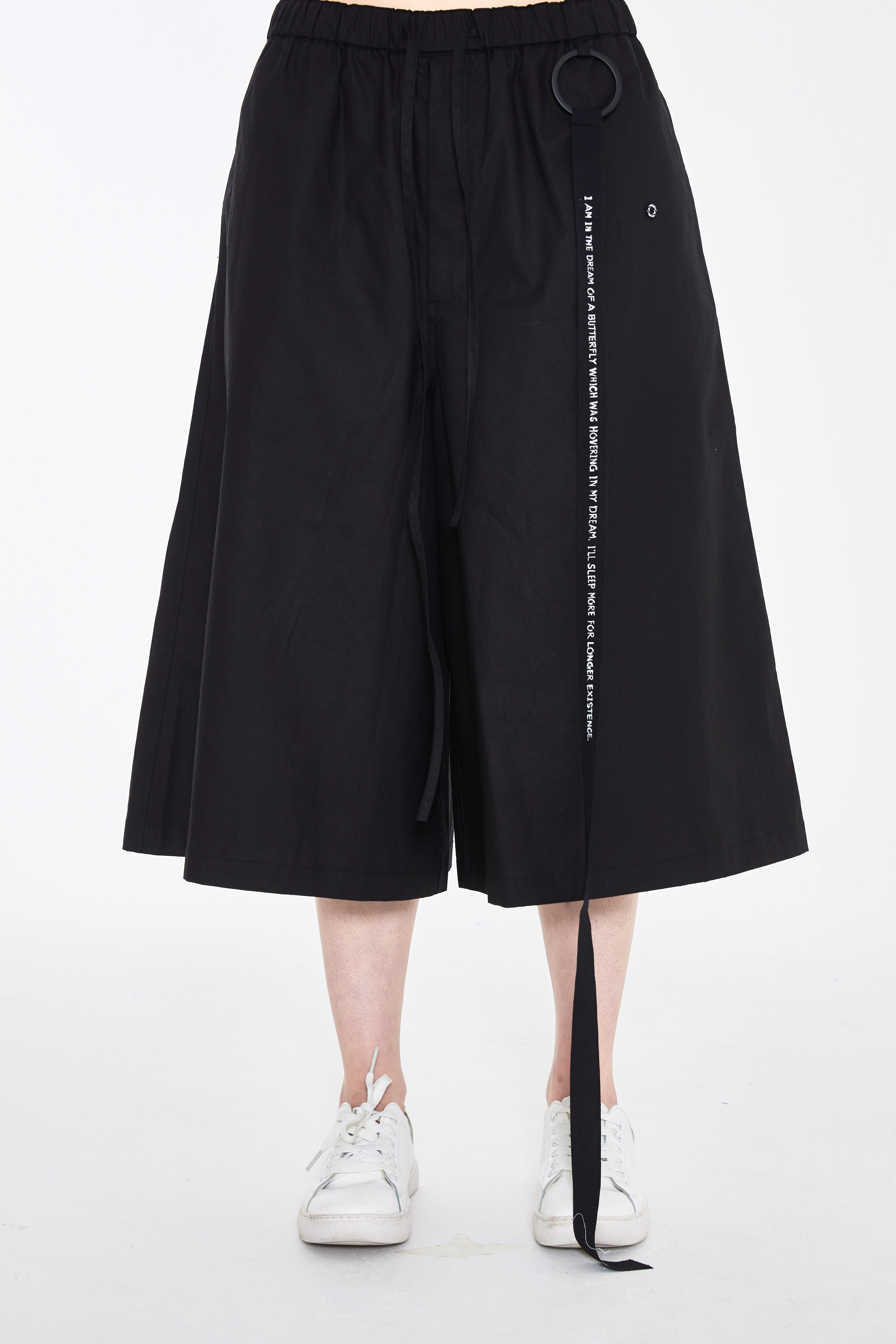 S/S19 LOO WIDE PANTS_BLACK