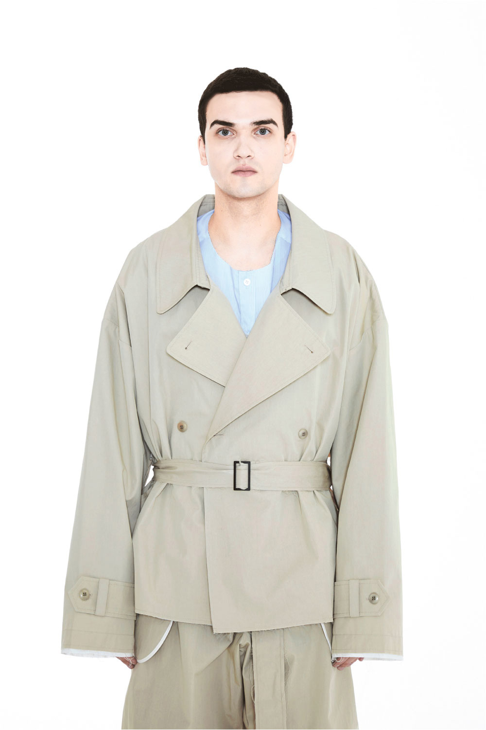 S/S19 SET SHORT TRECH COAT