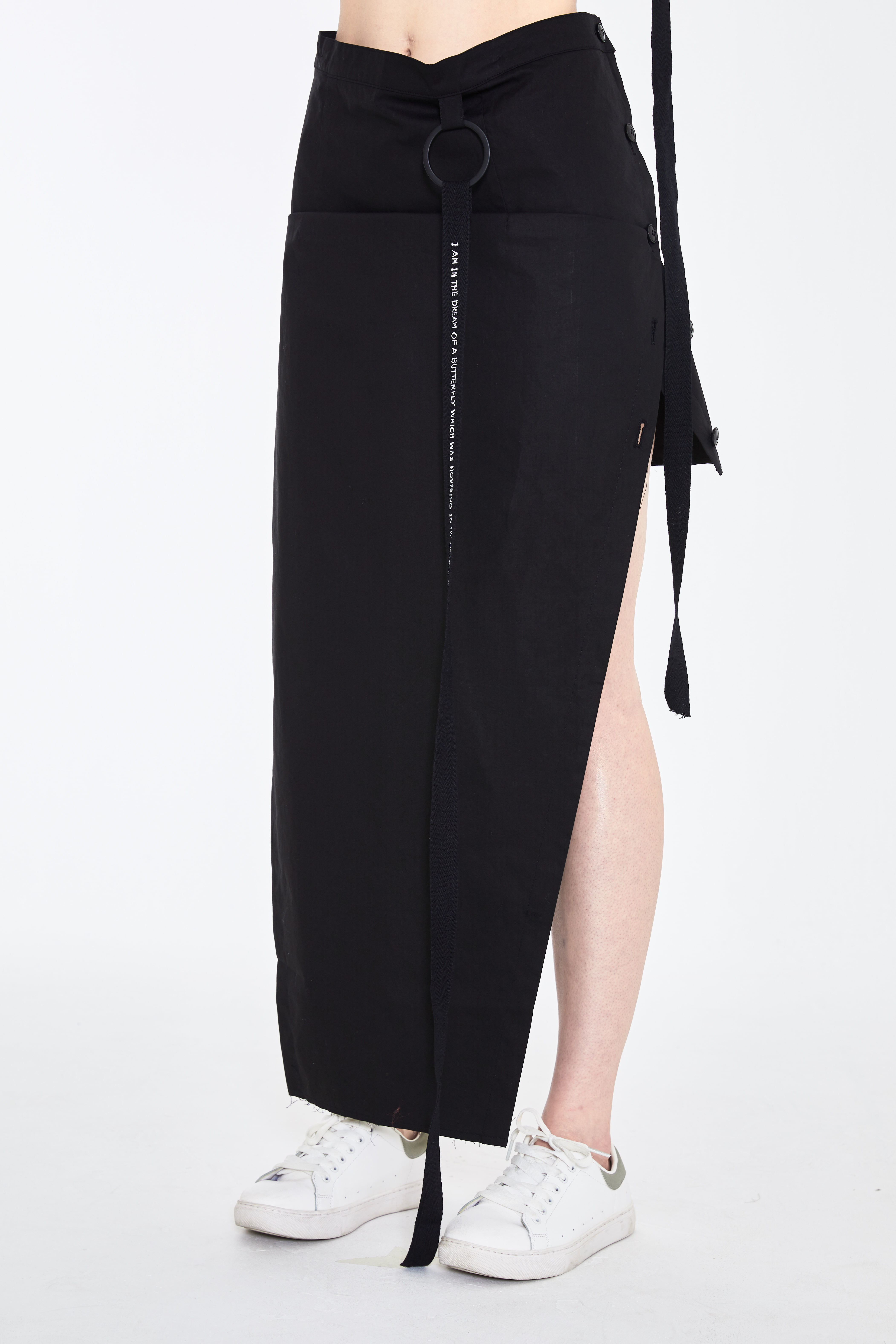 S/S19 LOO SEPARATE BUTTON SKIRT